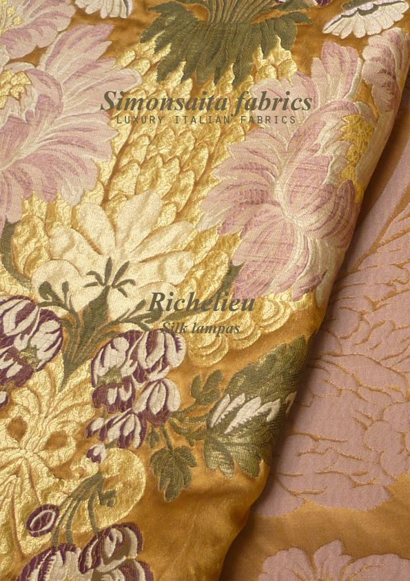 Richelieu Collection Silk Lampas