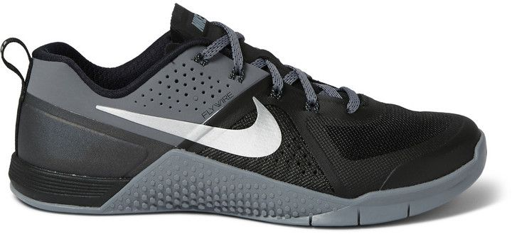 Nike Training Metcon 1 Perforated Rubber Sneakers