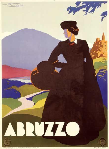 Vintage Italian Posters ~ Abruzzo