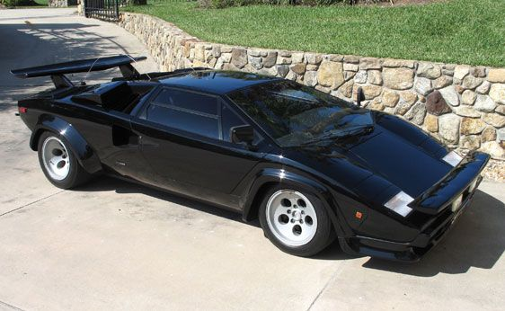 The Cannonball Run 1980 Lamborghini Countach Lp 400s