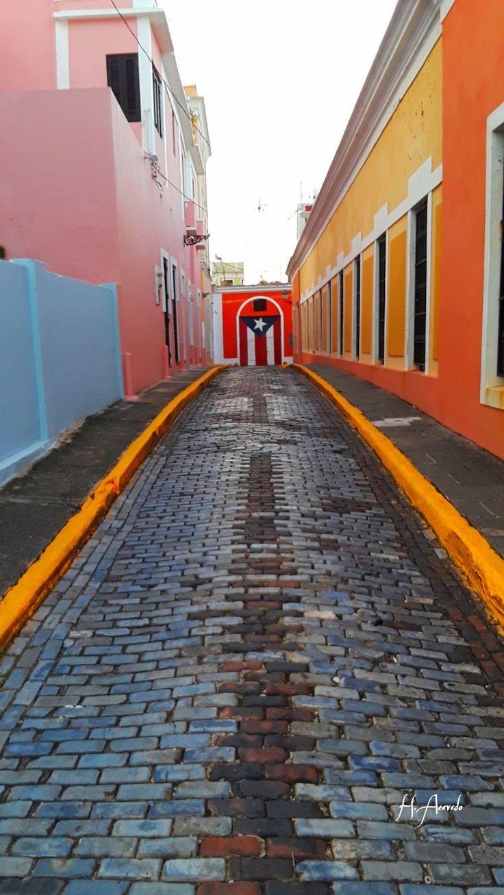 Calle Imperial en el Viejo San Juan Puerto Rico. | Puerto Rico