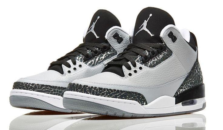 "Air Jordan 3 ""Wolf Grey"" (Official Images)   KicksOnFire.com"