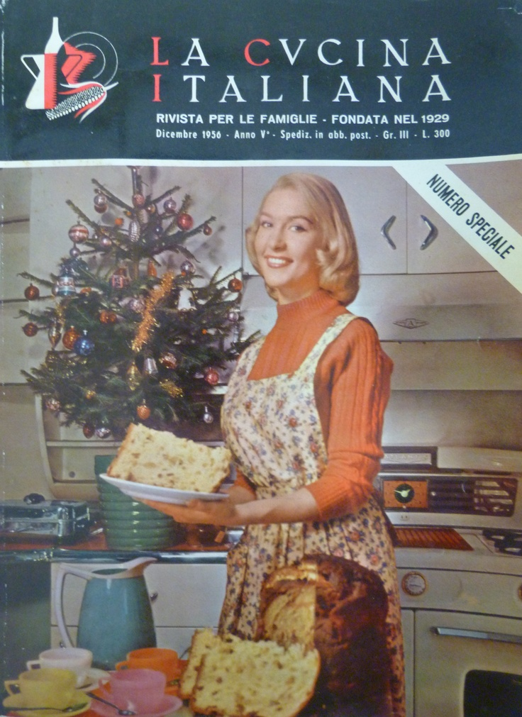 Dicembre/December 1956  cooking, entertainment, recipe, cucina, cucina italiana, La cucina italiana, la scuola de la cucina italiana, food, ricette, cibo, cuoco, chef, ricetta, primi, pasta, natale, feste, decorazione, apparechiare, bon ton, cooking, entertainment, recipe, main course, meat, pasta, cucina, food, chef, decoration, party, table, eating, magazine, cover