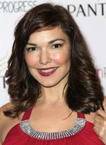 """Actress Laura Elena Harring attends the Screening of """"Girl In Progress"""" at the Directors Guild of America on May 2, 2012 in Los Angeles, California.: Medium Layered, Harring Medium, Hair Beauty, Hair And Beauty, Layered Cuts"""
