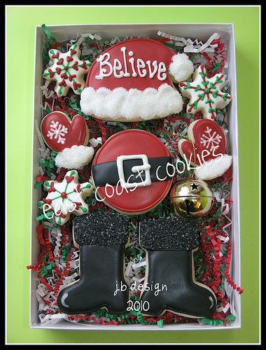 """Believe"" -Boxed set #2   by Coastal Cookie Shoppe (was east coast cookies)"