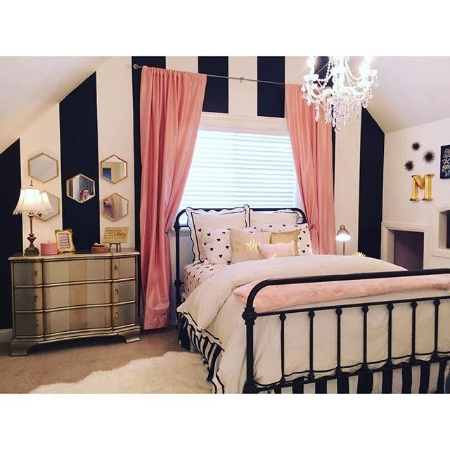 Recreate this bedroom decor with the Timolin Iron Bed from the Original Bedstead company