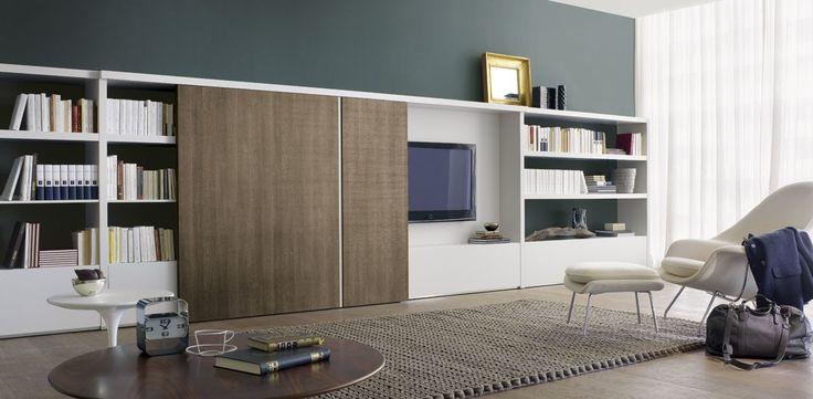 Luxe Moderne Kastenwand Woonkamer - Inspiratie Woonkamer en ...