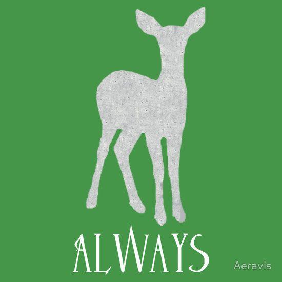 Always - Snape's Patronus, a t-shirt of harry potter, deathly ...
