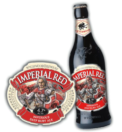Wychwood - Imperial Red - Is it the blood he spills, or the red Celtic hair? The reds (usually called Ambrées,or russes, here in France) not to be confused with the rubis, or rubys, that are raspberry flavoured beers, nice for one or two but too overwhelming for a session ale.