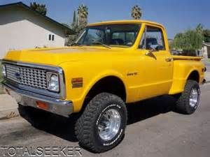 71 chevy 4 x 4 shortbed stepside