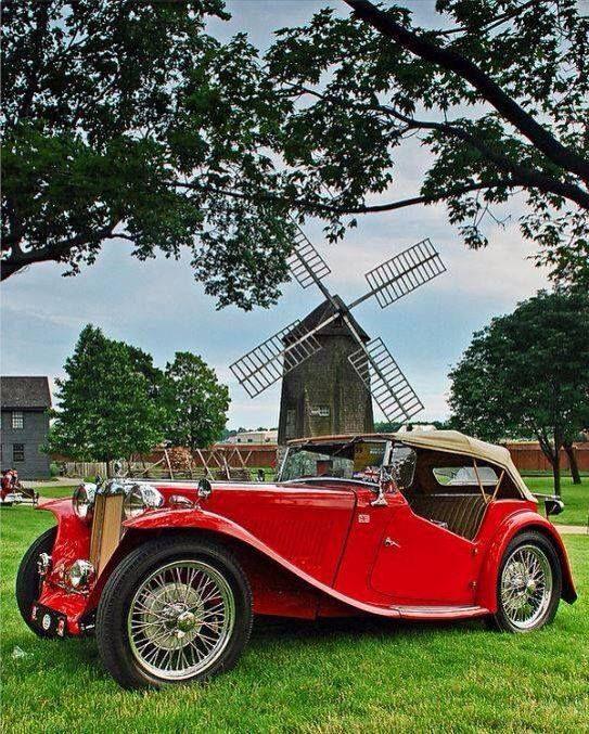 1934 MG Magnette Roadster