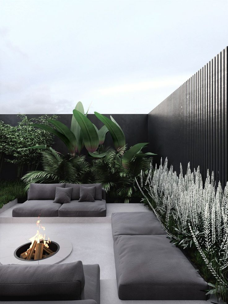Greige in 2020 | Rooftop design, Outdoor living design, Outdoor rooms