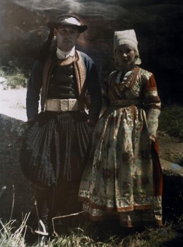 Gervais Courtellemont   Couple Concarneau