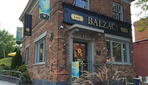 Balzac's Coffee Roasters – Port Dalhousie (because we'll need coffee on the sailboat)