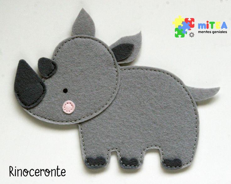 Rinoceronte - Quiet Book