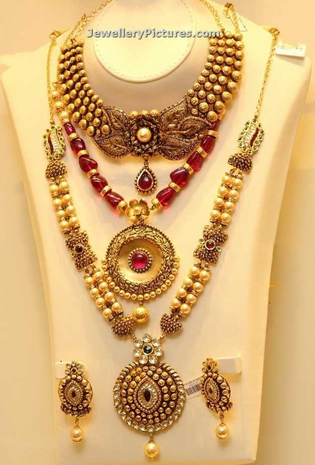 pearl-gold-jewellery-from-joyalukkas.jpg (627×926)