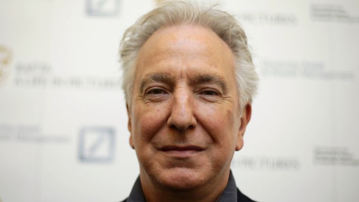 Alan Rickman Named The Greatest English Actor Of All Time - LADbible