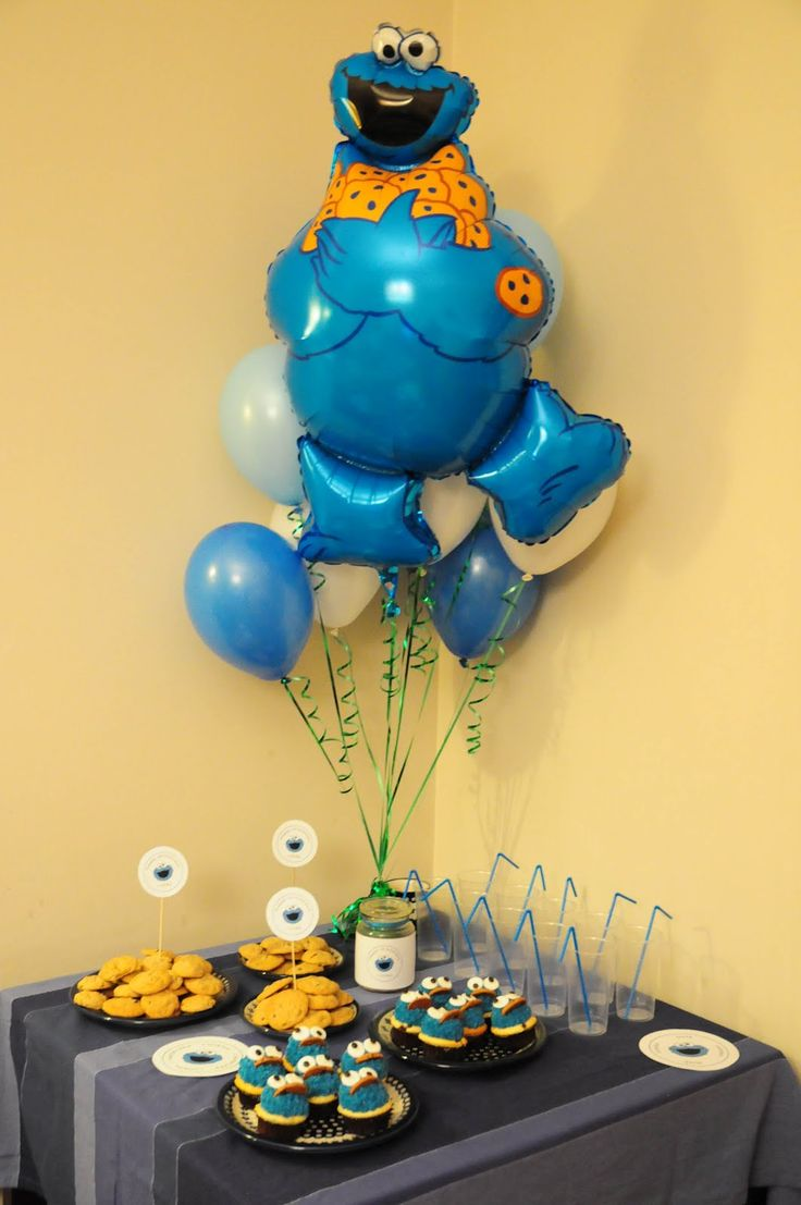 Cakes: Cookie Monster 1st Birthday Party Event and Candy Table | baby stuff | Pinterest | Primer Cumpleaños Del Mounstruo…
