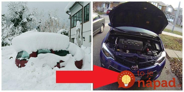 V zime mám tento sprej vždy v aute: neuveríte, s čím všetkým vám pomôže!