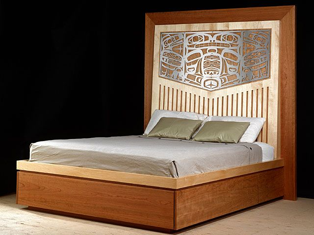 Commissions - Chilkat Bed - Whale and Raven - Sabina Hill: