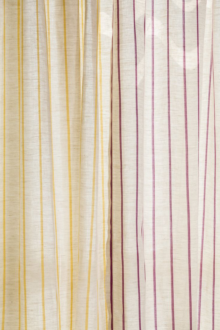 Yarn dyed woven linens, Folklore Collection from Svenmill Ltd