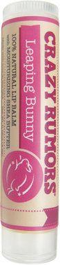 Crazy Rumors Leaping Bunny Plum Apricot Lip Balm (una parte del ricavato di questo prodotto sarà devoluta al Leaping Bunny)