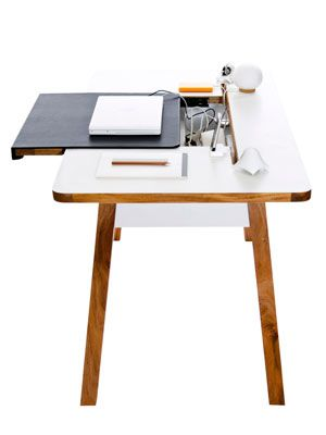 A Desk That Hides Your Mess
