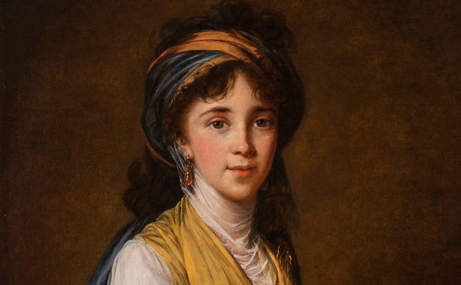 Elisabeth vigee-lebrun: portrait of a mother essay