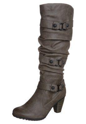 Høje støvler/ Støvler - grå