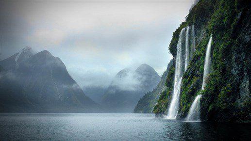 De vildeste vandfald i Fiordland