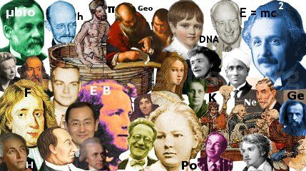 FAMOUS SCIENTISTS - - The biggest resource on the internet, with the histories, biographies and achievements of the most famous scientists and inventors from all over the world. SEE ALSO - BIO - - http://www.biography.com/people/groups/famous-scientists