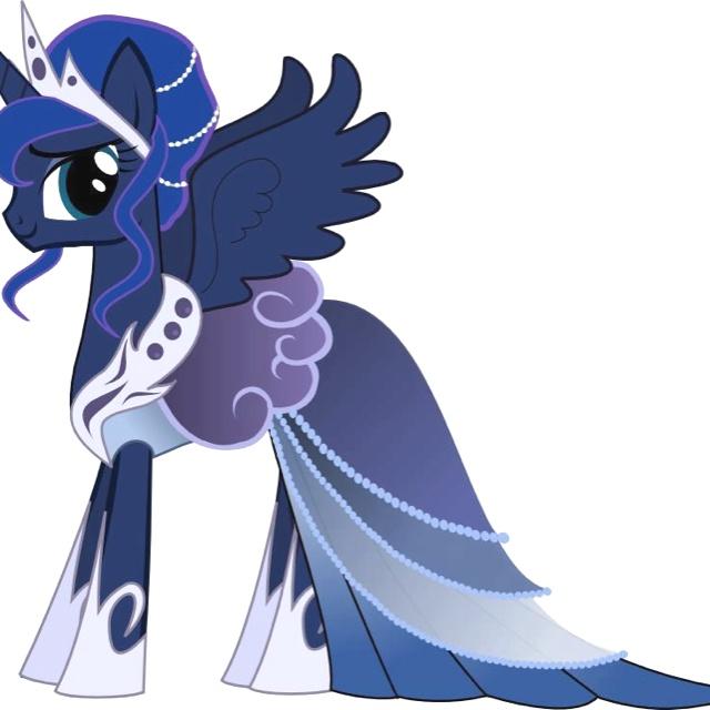 Princess Luna is my favorite princess<3