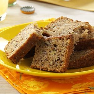Pineapple Banana Bread. Of course I replace a cup of banana with pineapple. Fabulous moist bread.