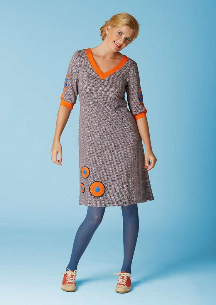 Retrolækker sporty kjole Orangina Oda / dumilde dress