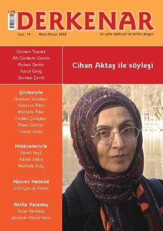 Derkenar 19  Derkenar dergisinin 19. sayısı / Mart-Nisan 2008