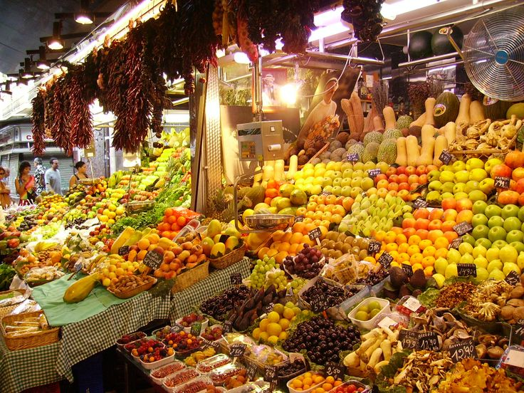 Barcelona - Mercado de la Boqueria