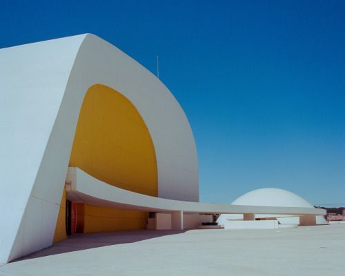 jzaphotography:   The Big Egg and a little domeCentro Niemeyer, Aviles, Asturias