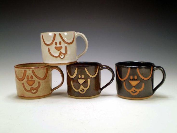 Dog mug dog mom gift pet mug handmade mug dog lover gift
