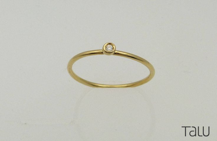 A personal favourite from my Etsy shop https://www.etsy.com/listing/511394420/gold-diamond-ring-tiny-diamond-ring-14k