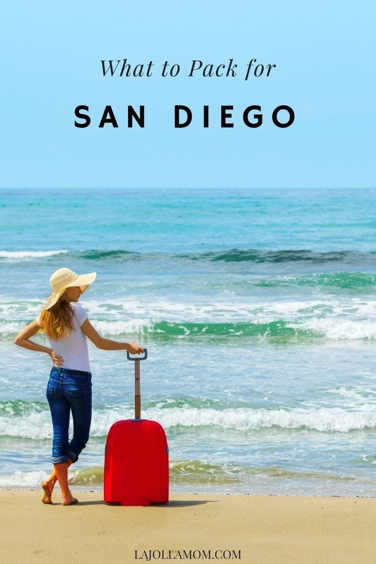 What To Pack For San Diego In 2020 With Images San Diego Beach Vacation San Diego Travel San Diego Vacation