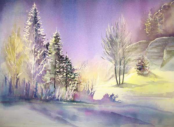 All Paintings: D. Haggman Watercolors