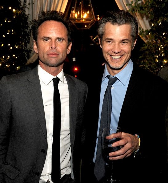 justified season 5 premiere - Walton Goggins and Timothy Olyphant