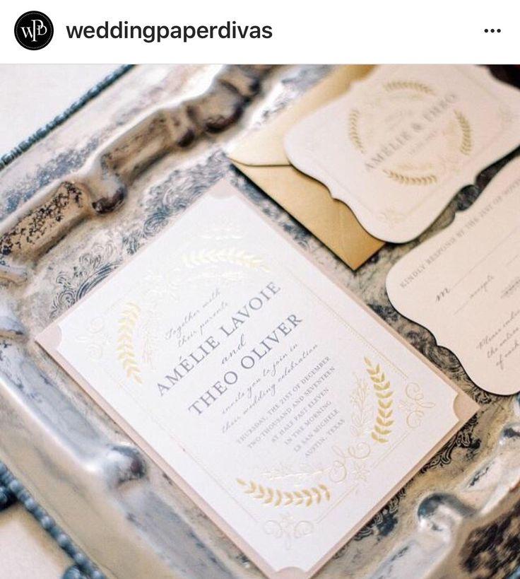 9 best Fine Art Wedding Invitations images on Pinterest | Wedding ...