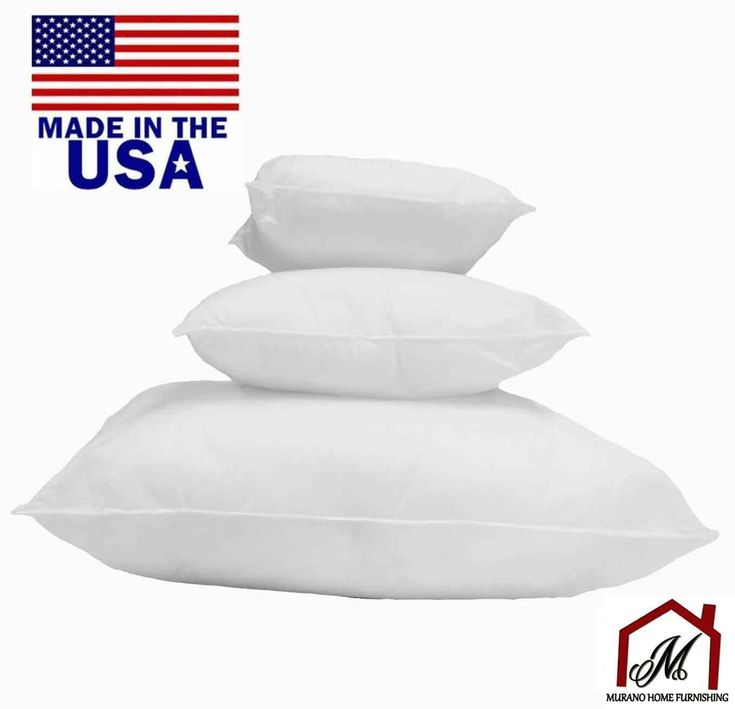 new square euro pillow form insert made in usa pillow forms insert all sizes