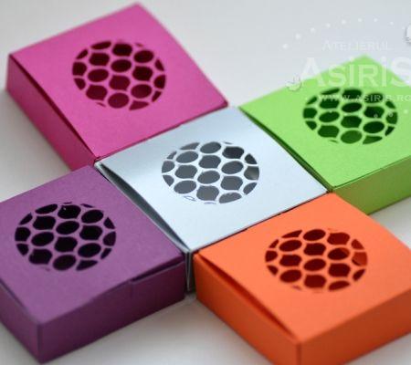 Cutii de marturii Enigma | Enigma Favor Boxes from Asiris Atelier