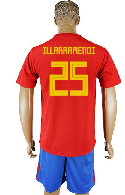 d06a9afb2 2018 Spain World Cup Kit  25
