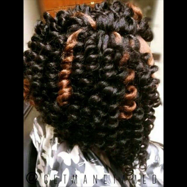 Knotless crochet install with an angled bob cut. I used