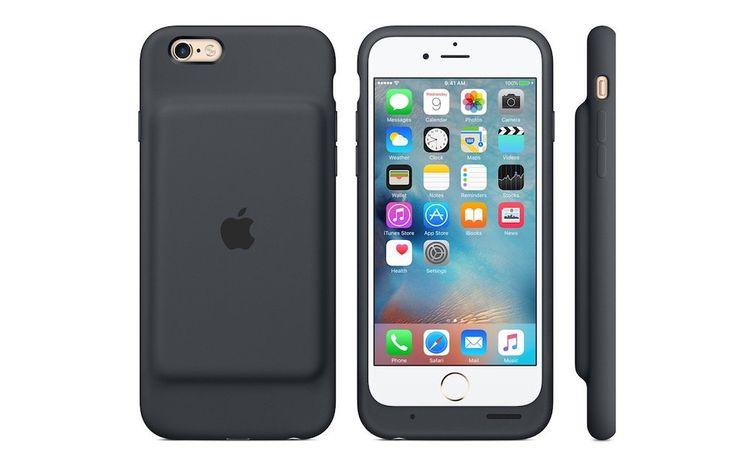 Nueva funda oficial de Apple con batería externa para iPhone 6/6s