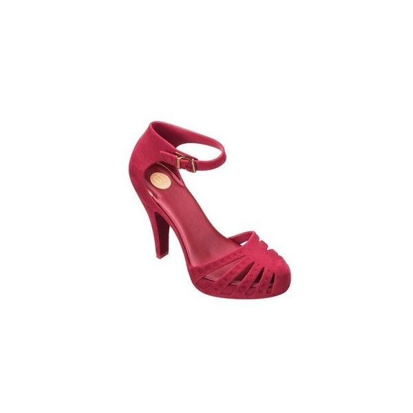 MELISSA ELECTRIC II ❤ liked on Polyvore featuring melissa, sapatos and saltos
