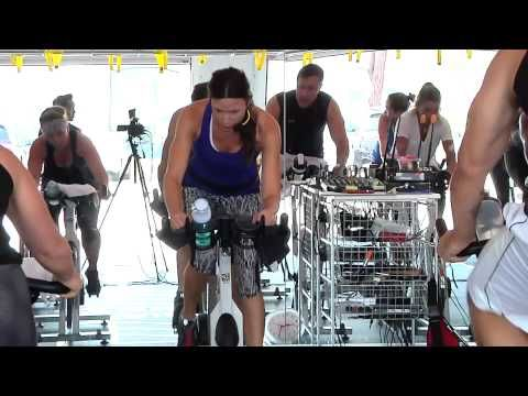 ▶ Best FULL hour FREE On-line Spin Class / Cycling Video w/ Cat Kom from Studio SWEAT onDemand -Part 1 - YouTube